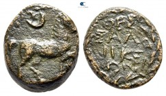 Macedon. Thessalonica. Pseudo-autonomous issue. Time of Claudius to Nero AD 41-68. Bronze Æ