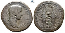 Thrace. Byzantion. Severus Alexander AD 222-235. Μ. ΑΥΡ. ΦΡΟΝΤΩΝ and ΑΙΛ. ΦΗΣΤΑ (M. Aurelius Fronton and Aelius Festus, archons). Bronze Æ...