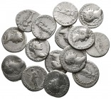 Lot of ca. 15 roman silver denarii / SOLD AS SEEN, NO RETURN!very fine