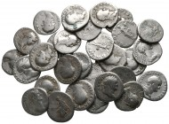 Lot of ca. 30 roman silver denarii / SOLD AS SEEN, NO RETURN!nearly very fine