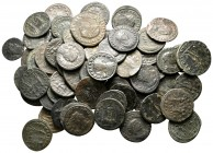 Lot of ca. 55 roman provincial bronze coins / SOLD AS SEEN, NO RETURN!very fine