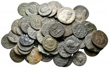 Lot of ca. 70 roman provincial bronze coins / SOLD AS SEEN, NO RETURN!nearly very fine