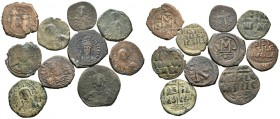 A mixed Lot of 10 Ancient Coins,About fine to about very fine. LOT SOLD AS IS, NO RETURNS.