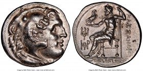 IONIA. Priene. Ca. 210-200 BC. AR tetradrachm (30mm, 17.16 gm, 11h). NGC Choice AU 5/5 - 4/5. Posthumous issue in the name and types of Alexander III ...