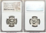 CARIAN ISLANDS. Rhodes. Ca. 230-205 BC. AR tetradrachm (24mm, 13.46 gm, 1h). NGC XF 5/5 - 4/5. Ca. mid-late 220s BC, Aristocritus, magistrate. Radiate...