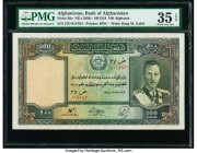 Afghanistan Bank of Afghanistan 100 Afghanis ND (1939) / SH1318 Pick 26a PMG Choice Very Fine 35 EPQ.   HID09801242017  © 2020 Heritage Auctions | All...