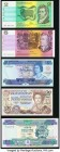Australia, Falkland Islands, and Solomon Islands Group Lot of 5 Examples Crisp Uncirculated or Better.   HID09801242017  © 2020 Heritage Auctions | Al...