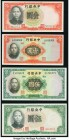 Eight Central Bank of China Notes from the 1930s. Very Good or Better.   HID09801242017  © 2020 Heritage Auctions | All Rights Reserved