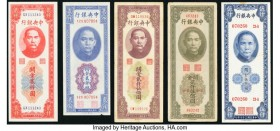 China Central Bank Group Lot of 10 Examples Very Fine or Better.   HID09801242017  © 2020 Heritage Auctions | All Rights Reserved