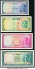 Iran Bank Melli 10; 50; 100; 200 Rials ND (1948-51) Pick 47; 49; 50; 51 Four Examples Fine-Very Fine or Better.   HID09801242017  © 2020 Heritage Auct...