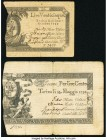 Italy Regie Finaze-Torino 100 Lire 1794 Pick S122a; 25 Lire 1796 Pick S129 Two Examples Fine. Edge splits.  HID09801242017  © 2020 Heritage Auctions |...