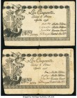 Italy Regie Finaze-Torino 50 Lire 1796 Pick S130a Two Examples Fine-Very Fine. Edge splits.  HID09801242017  © 2020 Heritage Auctions | All Rights Res...