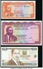 Kenya and Syria Group Lot of 6 Examples Very Fine-Choice Uncirculated. Syria Pick 87a has multiple pinholes.   HID09801242017  © 2020 Heritage Auction...