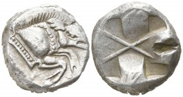 Dynasts of Lycia. . Uncertain Dynast 520-470 BC. Stater AR
