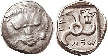 LYCIAN Dynasts, Mithrapata, 390-370 BC, 1/6 Stater (Diobol), Facg lion scalp/triskeles, astragalos (S5228 £120); VF/EF, actually almost as struck, obv...