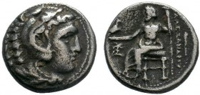 Macedonian Kingdom. Alexander III 'the Great'. 336-323 B.C. AR drachm .  Condition: Very Fine  Weight: 4.07 gr Diameter: 17 mm