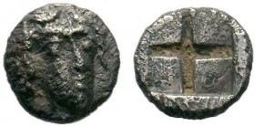 Uncertain mint AR Obol. Circa 4th century BC.  Condition: Very Fine  Weight: 0.29 gr Diameter: 6 mm