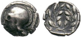 AEOLIS. Elaia. Obol (4th-3rd century BC).??  Condition: Very Fine  Weight: 0.62 gr Diameter: 8 mm