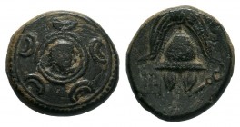 KINGS of MACEDON.Alexander III the Great (336-323 BC). AE Bronze.  Condition: Very Fine  Weight: 3.82 gr Diameter: 15 mm