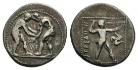 PAMPHYLIA.Aspendos. (Circa 380/75-330/25 BC).AR Stater.  Condition: Very Fine  Weight: 10.75 gr Diameter: 23 mm
