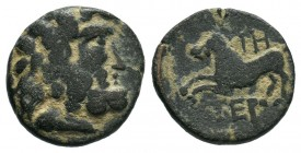 PISIDIA.Termessos Æ18. 1st century BC.AE Bronze.  Condition: Very Fine  Weight: 3.36 gr Diameter: 16 mm
