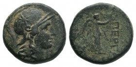 MYSIA. Pergamon. Mid-late 2nd century BC. AE Bronze.  Condition: Very Fine  Weight: 7.78 gr Diameter: 20 mm