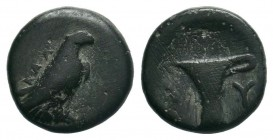 AEOLIS.Kyme. (circa 320-250 BC).AE Bronze.  Condition: Very Fine  Weight: 1.29 gr Diameter: 11 mm