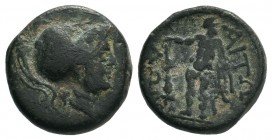 AITOLIA. Aitolian League. Ae (Circa 279-168 BC).  Condition: Very Fine  Weight:4.28 gr Diameter: 16 mm