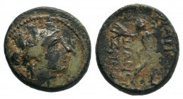 PHRYGIA.Apameia.(100-50 BC).AE Bronze.  Condition: Very Fine  Weight: 4.35 gr Diameter: 16 mm