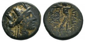 PHRYGIA.Apameia.(100-50 BC).AE Bronze.  Condition: Very Fine  Weight: 3.32 gr Diameter: 16 mm