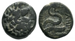 MYSIA. Pergamon. (c 150-120 BC). AE Bronze.  Condition: Very Fine  Weight: 8.15 gr Diameter: 19 mm