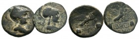 2x PHRYGIA. Apameia. (c 100-50 BC).AE Bronze.  Condition: Very Fine  Weight: lot Diameter: