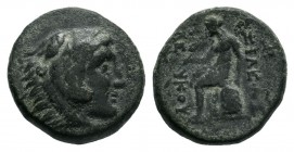 SELEUKID KINGS of SYRIA.Seleukos II Kallinikos (246-226 BC).AR Bronze.  Condition: Very Fine  Weight: 3.83 gr Diameter: 16 mm