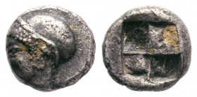 IONIA.Phokaia (521-478 BC). AR Obol.  Condition: Very Fine  Weight: 1.22 gr Diameter: 9 mm