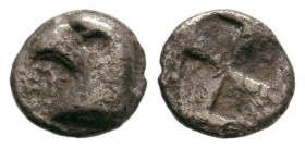 TROAS.Abydos.(circa 500-450 BC).AR Obol.  Condition: Very Fine  Weight: 0.35 gr Diameter: 8 mm