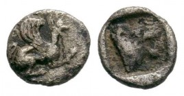 TROAS. Assos. (Circa 405-360 BC). AR obol.  Condition: Very Fine  Weight: 0.41 gr Diameter: 6 mm