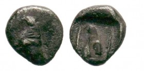 TROAS. Assos. (Circa 405-360 BC). AR obol.  Condition: Very Fine  Weight: 0.37 gr Diameter: 5 mm