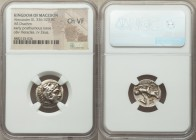 MACEDONIAN KINGDOM. Alexander III the Great (336-323 BC). AR drachm (17mm, 9h). NGC Choice VF. Posthumous issue of Lampsacus, ca. 310-301 BC. Head of ...