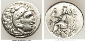 MACEDONIAN KINGDOM. Alexander III the Great (336-323 BC). AR drachm (18mm, 4.20 gm, 12h). VF. Posthumous issue of 'Colophon', ca. 310-301 BC. Head of ...