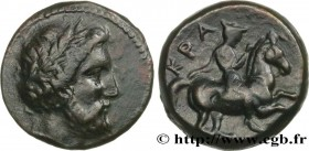 THESSALY - KRANNON Type : Dichalque  Date : c. 350 AC.  Mint name / Town : Crannon, Thessalie  Metal : copper  Diameter : 17  mm Orientation dies : 3 ...