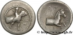 THESSALY - TRIKKA Type : Hemidrachme  Date : c. 440-420 AC.  Mint name / Town : Trikka, Thessalie  Metal : silver  Diameter : 16,5  mm Orientation die...