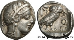 ATTICA - ATHENS Type : Tétradrachme  Date : c. 430 AC.  Mint name / Town : Athènes  Metal : silver  Diameter : 24,5  mm Orientation dies : 7  h. Weigh...