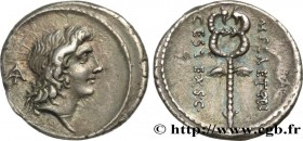 PLAETORIA Type : Denier  Date : 69 AC.  Mint name / Town : Rome  Metal : silver  Millesimal fineness : 950  ‰ Diameter : 18  mm Orientation dies : 6  ...