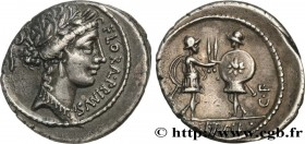 SERVILIA Type : Denier  Date : 57 AC.  Mint name / Town : Rome  Metal : silver  Millesimal fineness : 950  ‰ Diameter : 19  mm Orientation dies : 6  h...