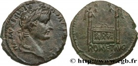 TIBERIUS Type : As à l'autel de Lyon  Date : c. 12-14 AD.  Mint name / Town : Lyon  Metal : copper  Diameter : 25,5  mm Orientation dies : 1  h. Weigh...
