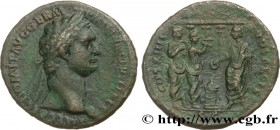 DOMITIANUS Type : As  Date : 88  Mint name / Town : Rome  Metal : copper  Millesimal fineness : 900  ‰ Diameter : 28  mm Orientation dies : 1  h. Weig...