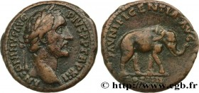 ANTONINUS PIUS Type : As  Date : 148-149  Mint name / Town : Rome  Metal : copper  Diameter : 27  mm Orientation dies : 12  h. Weight : 12,57  g. Rari...