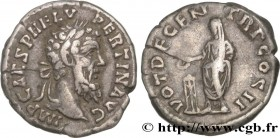 PERTINAX Type : Denier  Date : 193  Mint name / Town : Rome  Metal : silver  Millesimal fineness : 800  ‰ Diameter : 17,50  mm Orientation dies : 5  h...