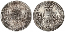 Austria Holy Roman Empire Salzburg 1/2 Thaler 1628. Paris Graf Lodron (1619-1653). In 1628 the cathedral was consecrated. The two saints St. Rudbertus...