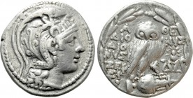 ATTICA. Athens. Tetradrachm (139/8 BC). New Style Coinage. Dionysi, Dionysi and Zefxi magistrates.